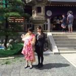 塩竈神社へのお宮参り
