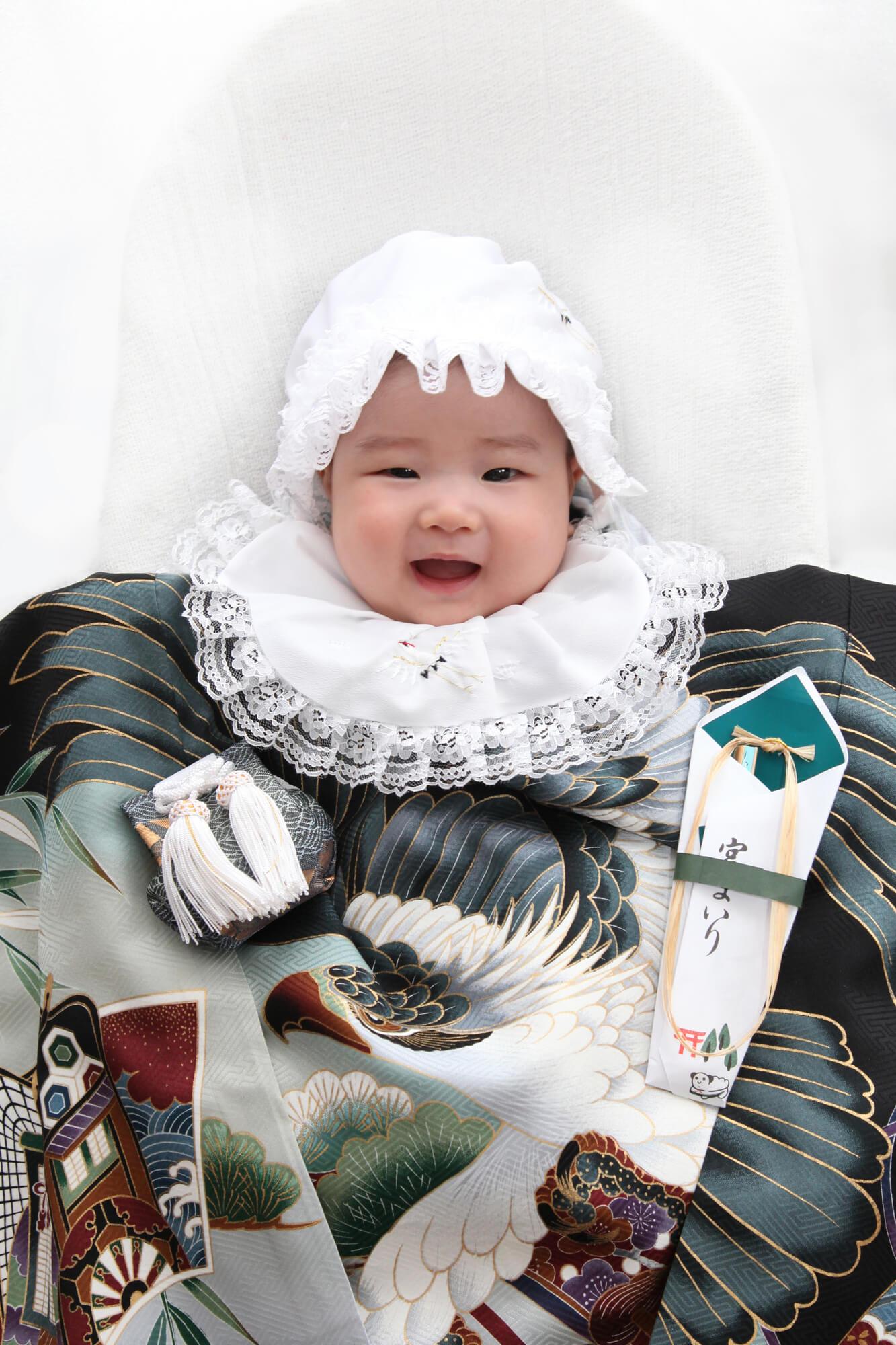 服装 お の 宮参り 祖母